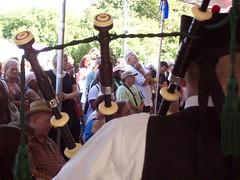 Chicago Celtic Fest 2009 (El_Sol) Tags: flowers irish downtown dancers lakeshore publicart fest kilts cloudgate buckinghamfountain lakefront scottland celticfest storytellers chicago2009