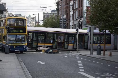 Major Luas Accident In Dublin