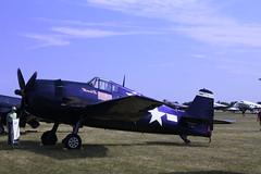 Commander David McCampbell's F6F Hellcat (John. Romero) Tags: david airplane airshow worldwarii displays planes static fighters warbirds prop commander eaa oshkosh airventure hellcat grumman f6f mccampbells