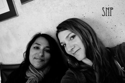 . becca and sarah .
