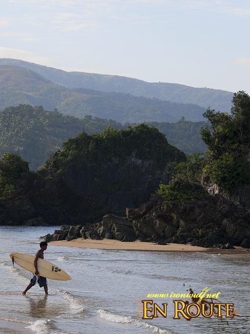 Puraran Beach Heading to Surf