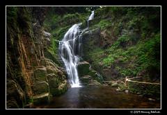 waterfall kamieńczyk (Mariusz Petelicki) Tags: waterfall hdr sudety karkonosze 3xp wodospad szklarskaporęba mariuszpetelicki