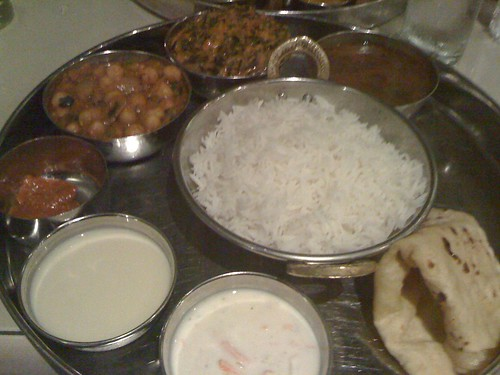 delicious vegetarian indian food