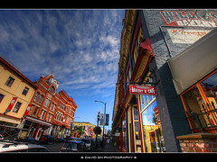 British Columbia's Oldest Bakery (David Gn Photography) Tags: britishcolumbia hdr victoriabc twop lojo photomatix williesbakery oldestbakery sigma1020mmf35exdchsm canoneosrebelt1i foundedin1887 537johnsonstreet