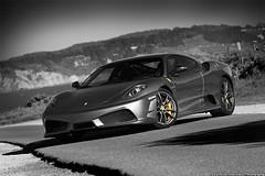 Ferrari F430 Scuderia (alexDPhotography - Alex Diaconou) Tags: auto california white black color alex car canon photography bay photo san francisco automotive super ferrari exotic area titanium scuderia supercar f430 selective 40d automboile alexdphotography diaconou uberexotica