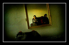 waiting for ... ('GHAZALEH GHAZANFARI') Tags: selfportrait interestingplace takenbyvgacameraithink