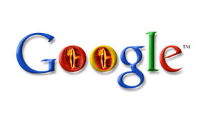 Scary Google with Sauron eyes