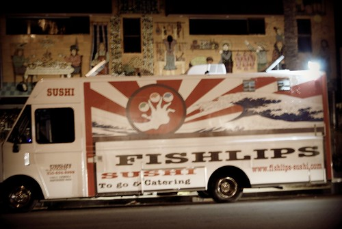 Fishlips Sushi - Abbot Kinney - First Friday - 10/2 by you.