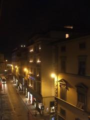 view from hotel paris(firenze)