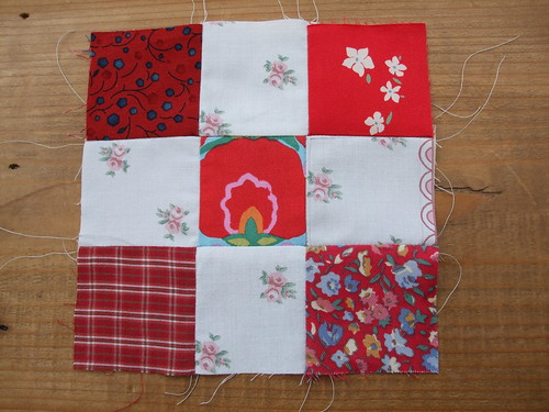 My 1st bit of pieced patchwork..