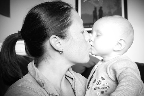 week 37 - mom's birthday kiss
