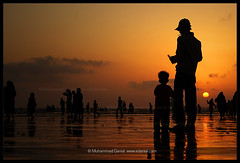 I feel Secure...! (Danial Shah) Tags: pakistan sunset beach feel secure karachi lovepakistan edanial