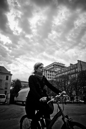 Paris Cycle Chic - Cycliste