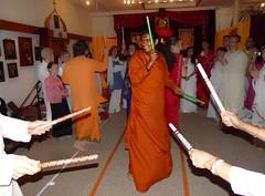 Navaratri 2009 day 4 (Bhakti Marga) Tags: puja navaratri divinemother abishekam kushmanda mahavatarbabaji skandamata bhaktimarga sriswamivishwananda katyayaani