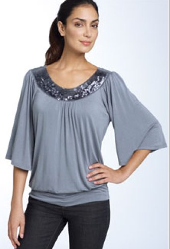 Cameo Appearance Sequin Top - Nordstrom $48