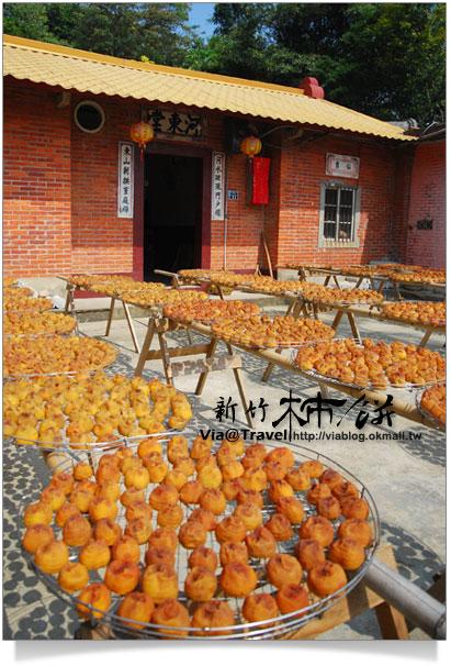 新埔柿餅季-味衛佳柿餅加工廠