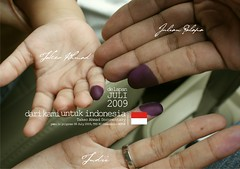 Indonesian Election 2009 (julian palapa) Tags: indonesia julian election palapa ahmad indonesian pemilu takeo nasionalis