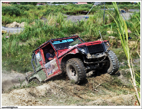 Pesta Kubis Kundasang 2009 - Kundasang 4x4 Challenge - Land Rover
