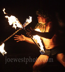 Fire Dancer - Maui (joewestphoto.com) Tags: hawaii torches spin firedancer