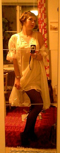 50's nightgown