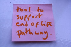 Tool to support end of life pathway