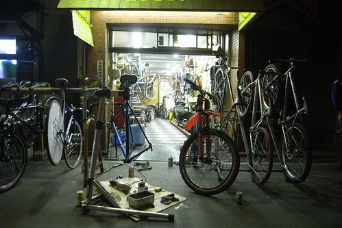 bicycle shop craft