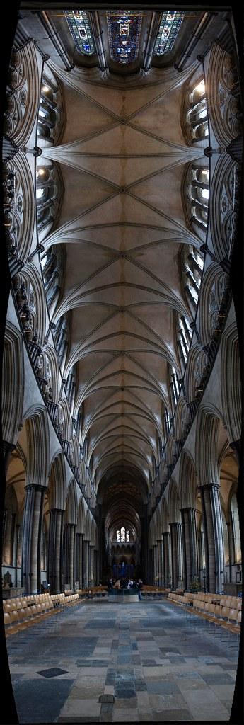 Salisbury Cathedral Panorama