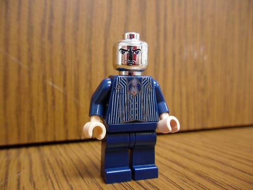 Destro (Chrome Head) custom minifig