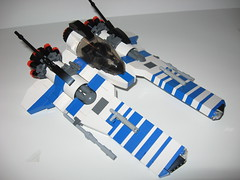 Vic Viper (Eleven-Thirty-Eight) Tags: lego space starfighter vicviper novvember