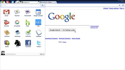 Google chrome OS looks features