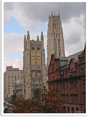 New York - Union Theological Seminary and Riverside Church/Columbia University