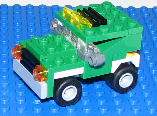 LEGO 2010 Creator 5865 Mini Dumper