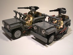 Willy's Jeep (PhiMa') Tags: lego wwii ww2 worldwar2 allies brickarms willysmbjeep usamerican m1919browning