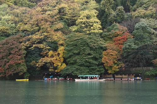 嵐山保津川