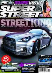 Super Street January 2010 Cover (Sean Klingelhoefer) Tags: la losangeles nissan shot rig carbon lakers wald gtr bodykit superstreet andrewbynum seanklingelhoefer