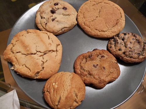 PB, Choco Chip, Snickerdoo, Cooks and Cream