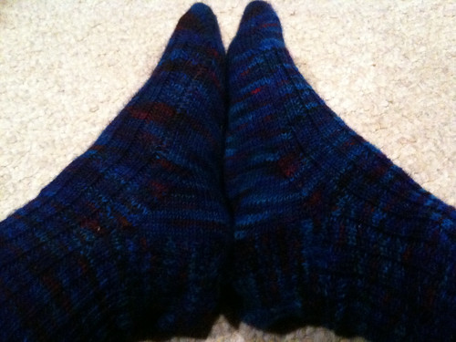 first socks completed