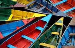 Boats on Phewa Lake (Benbee) Tags: nepal boats pokhara phewalake
