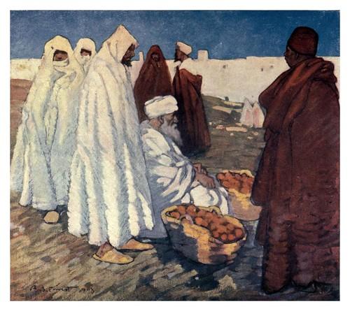 047- Venta de naranjas en Marruecos-Morocco 1904- Ilustraciones de A.S. Forrest