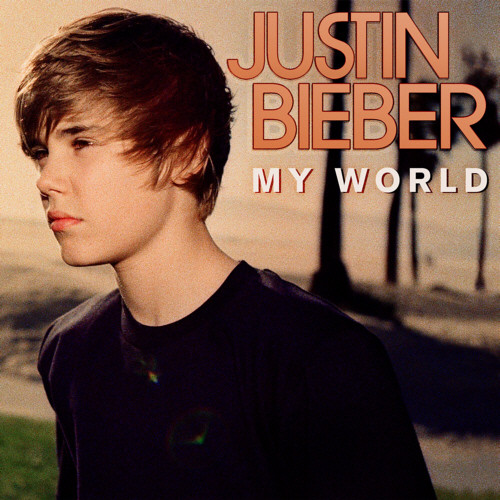 my world album cover justin bieber