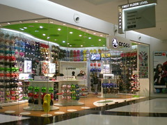 Crocs store at an Indian mall