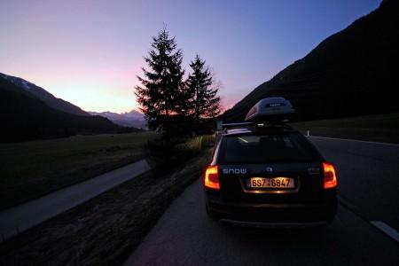 Dopravní informace okolních a alpských zemí 2009/10