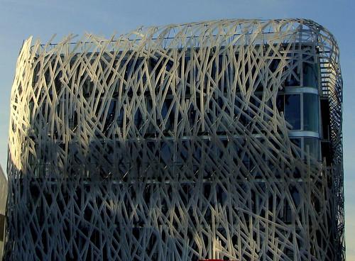 Immeuble Manny  architecture futuriste