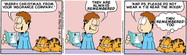 Garfield: Lost in Translation, December 14, 2009