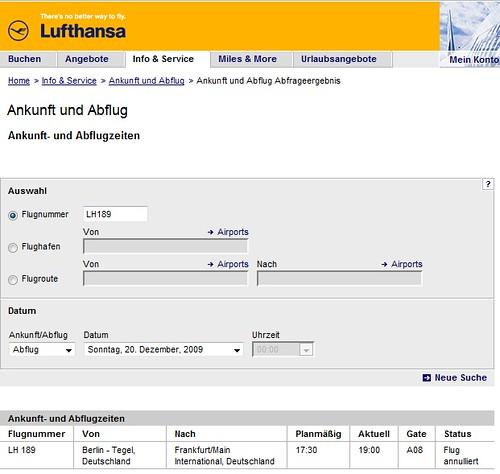 Lufthansa LH189