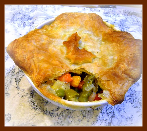 Vegetable Pot Pie | Yummy Mummy Kitchen | A Vibrant Vegetarian Blog