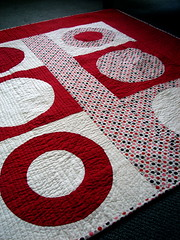 hot spots (aka circle experiments) (Jacquie G) Tags: modernquilt circlequilt piecedcircles