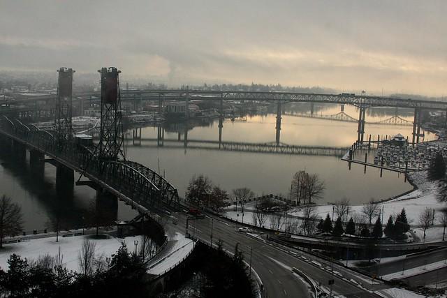 willamette river, december '09