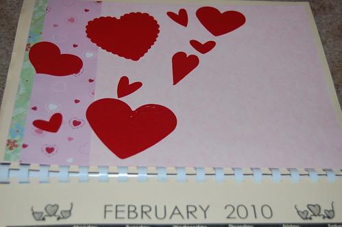 Adam's calendar gift - February