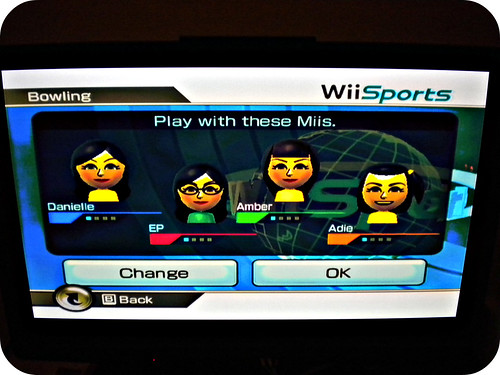 the ladies on Wii
